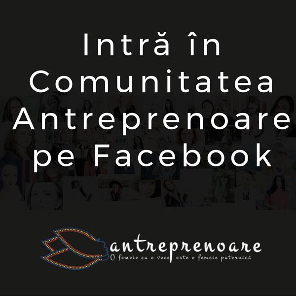 Grup Antreprenoare pe Facebook