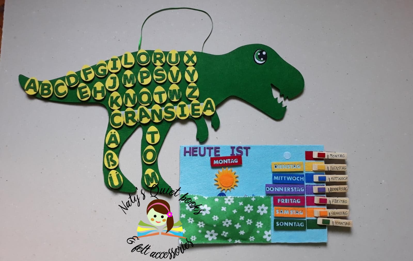 Naty's Quiet Books & Felt Accessories