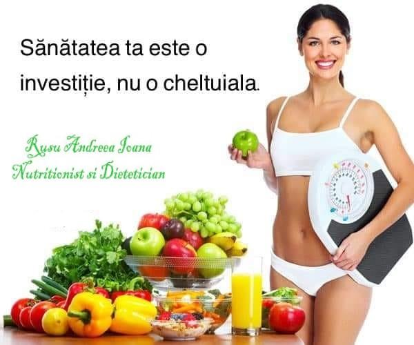 Cabinet de Nutriție și Dietetică Rusu Andreea Ioana