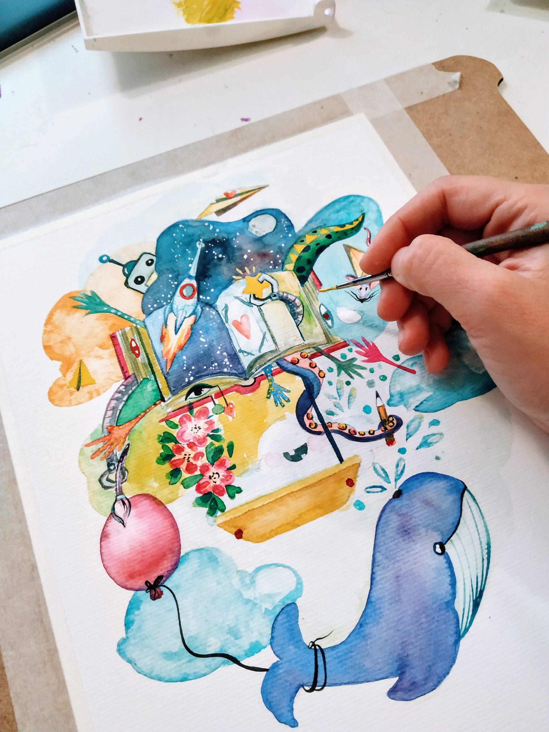 Ana-Maria Gălețeanu – Ilustrator