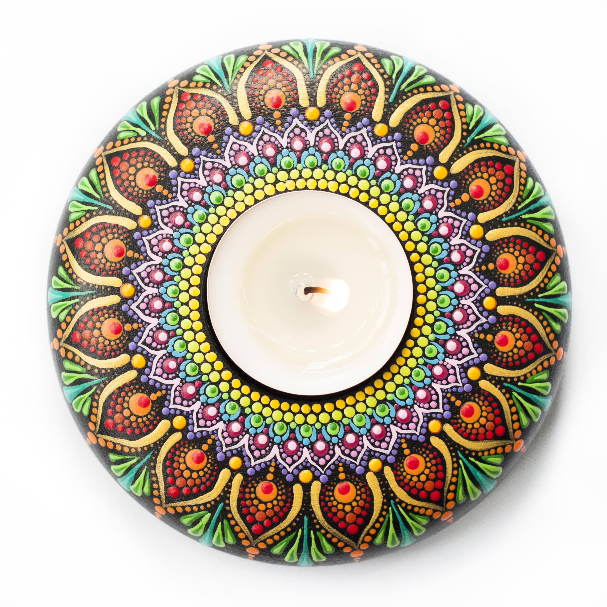 Color Drops Mandala