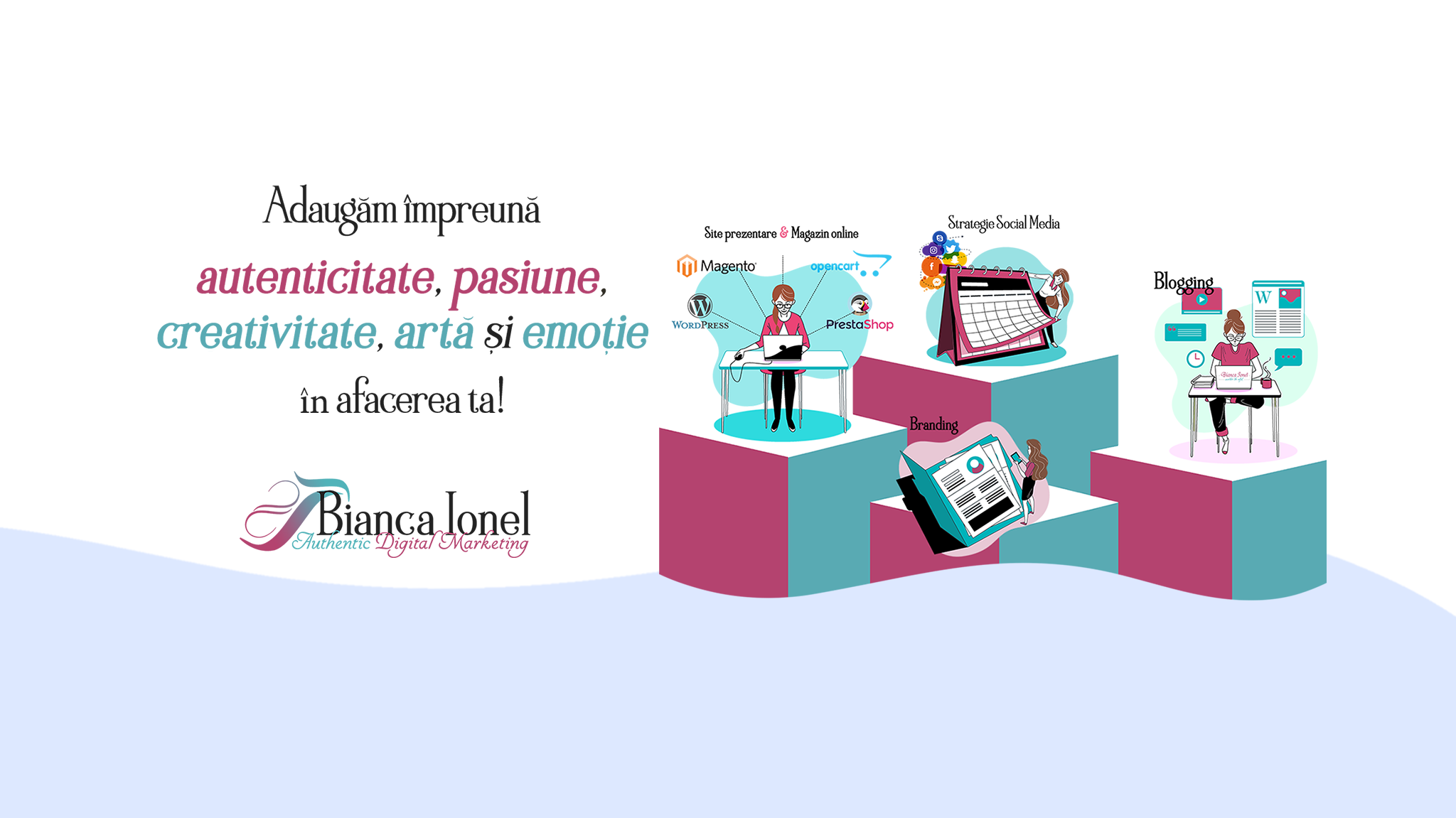 Authentic Digital Marketing by Bianca Ionel